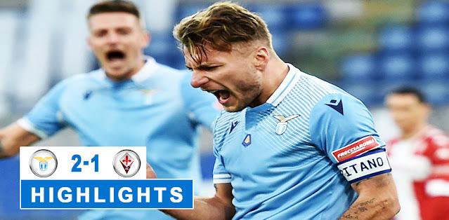 Lazio vs Fiorentina – Highlights