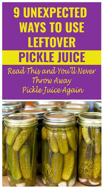 Once You Read This You WIll Never Throw Away Pickle Juice Again. Who Knew It Could Do All THIS?!