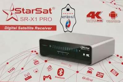 تحديث جديد لجهازSTARSAT SR-X1 PRO