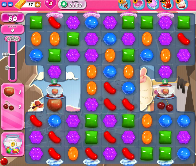 Candy Crush Saga level 2152