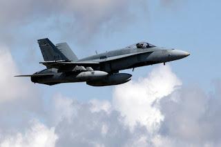 Jet Tempur CF-18 Kanada