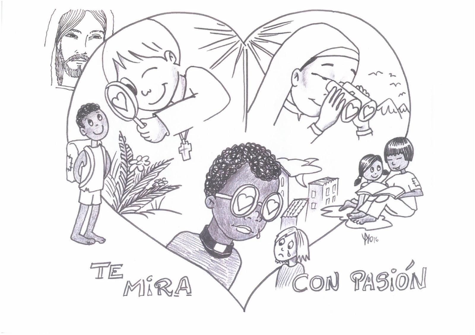 Las Misiones Y Los Niños Dibujos Para Colorear De Niños: Catequesis Para Niños Oración Por Las Vocaciones