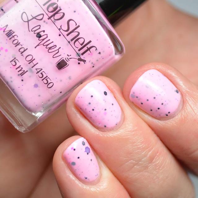 pink crelly nail polish