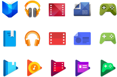 Google Released New Redesigned Google Play App Icons