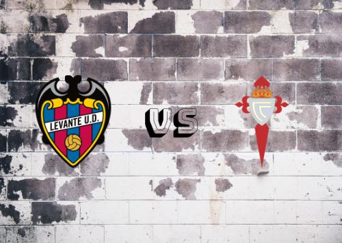 UD Levante vs Celta de Vigo  Resumen