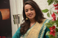 Tejaswi Madivada looks super cute in Saree at V care fund raising event COLORS ~  Exclusive 043.JPG