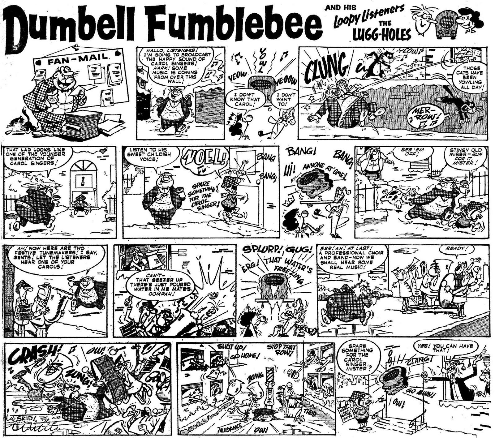 Dumbell Flumblebee, Buster nº 31 Rojas