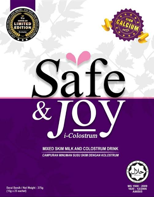Susu Kolostrum Safe & Joy