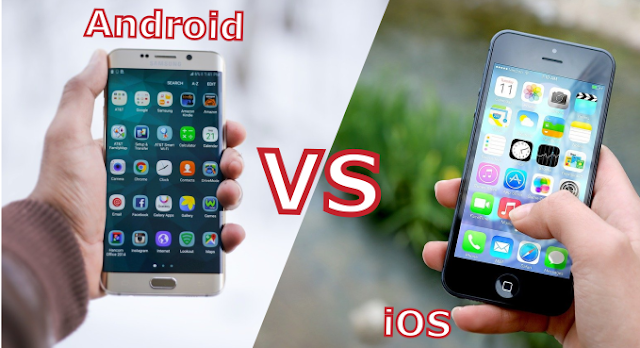 Android vs iOS Jalur Tekno