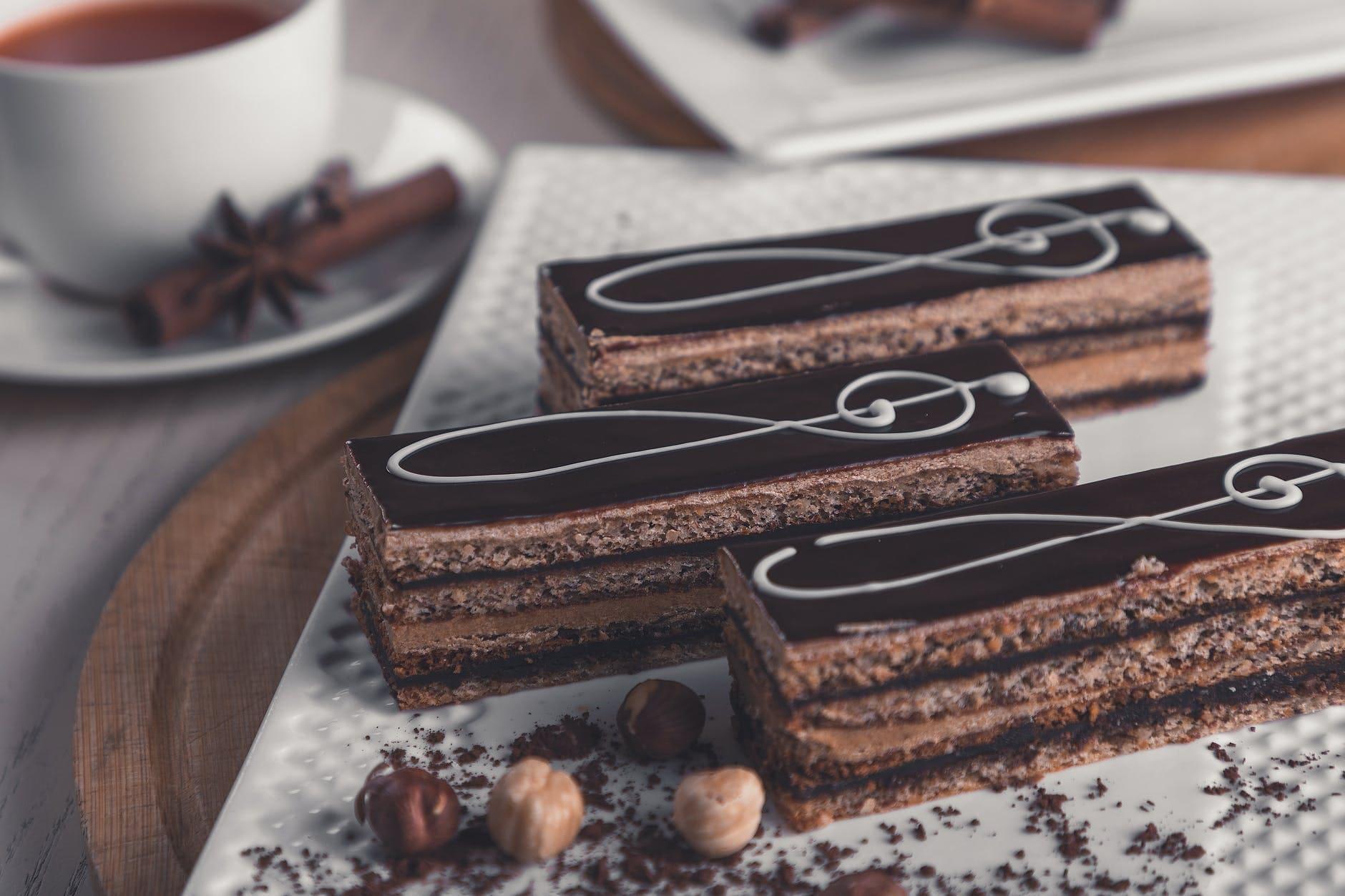 How to make a chocolate opera cake