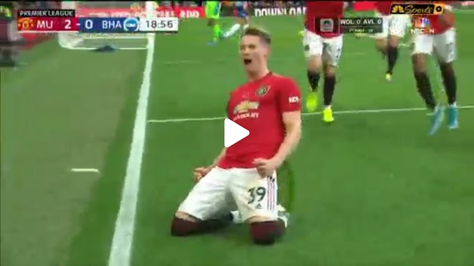 VIDEO: Manchester United 3:1 Brighton / Premier league