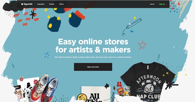 انشاء متجر الكتروني مجاني علىbig cartel