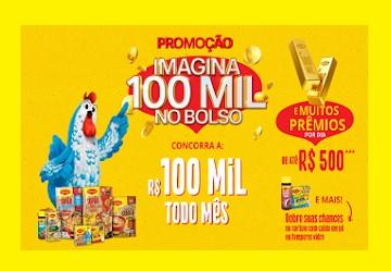Promoção Maggi Imagina 100 mil no Bolso