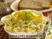 Vajíčkový fitness šalát - recept