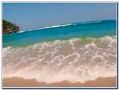Rute Pantai Ngliyep Malang