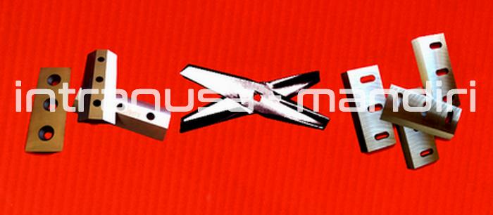 Pisau Cacah Tanaman Basah, Pisau Mixer/Blender & Crusher Plastik -   Material SKD-11