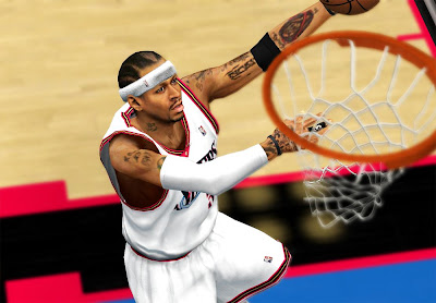 NBA 2K13 AI Allen Iverson Face and Hair Mods
