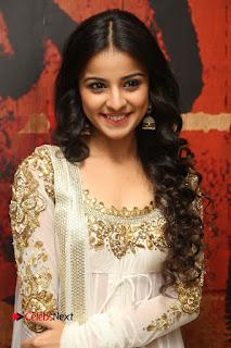 Telugu Actress Mahima Makwana Stills in White Desginer Dress at Venkatapuram Movie Logo Launch  0107.JPG