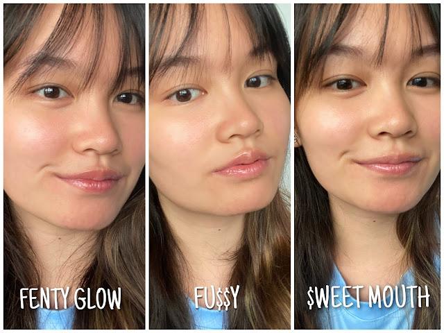 fenty beauty shades comparison