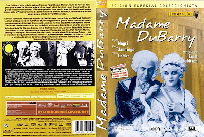 Carátula dvd: Madame DuBarry (1919)