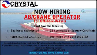 Seaman job hiring without experience