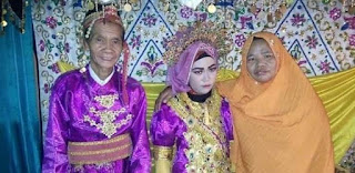 Kakek 75 Tahun Bahagia Menikahi Gadis 18 Tahun