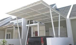 kanopi baja ringan minimalis modern terbaru