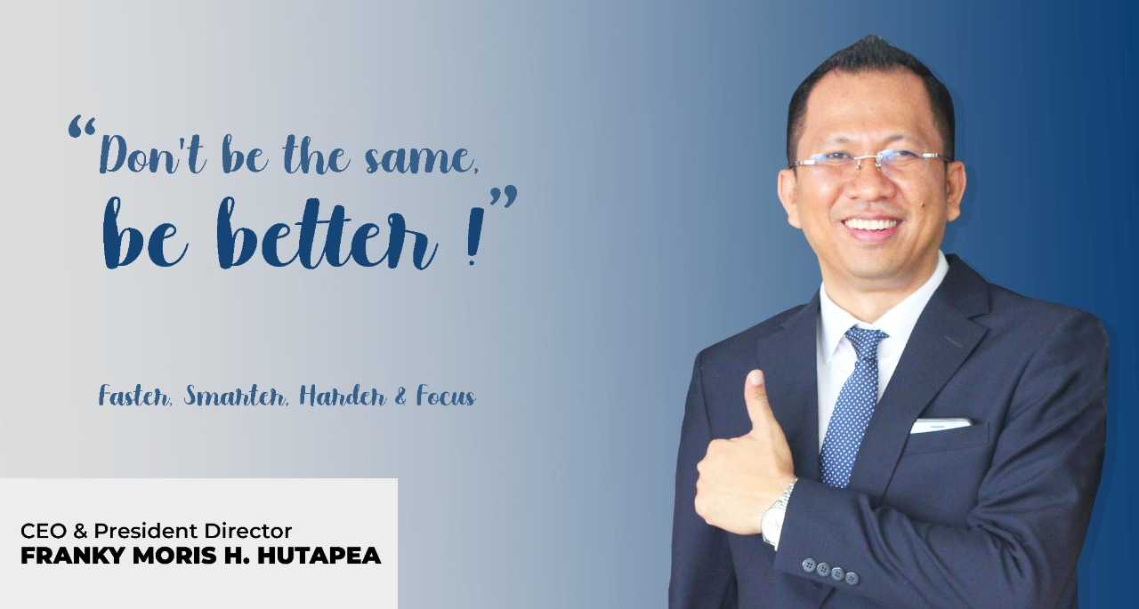 Franky Moris H. Hutapea, CEO & President Director PT Victory Blessings Indonesia