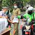 Ojol Semarang Dapat Gratis Nasi Kotak dari Pemprov Jateng