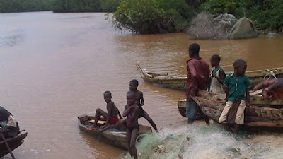 14 children sold into slavery rescued on Volta Lake