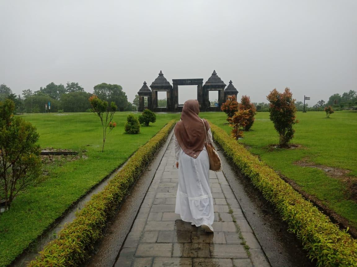 Senja Terindah di Candi Ratu Boko