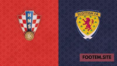 Croatia vs Scotland