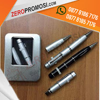 Jual USB Flashdisk Pen, FDPEN07, souvenir flashdisk pen, flashdisk pen 3in1
