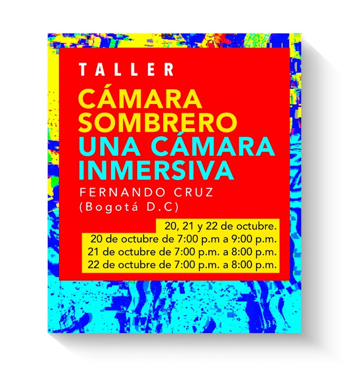 Cali foto fest taller camara sombrero con Fernando Cruz