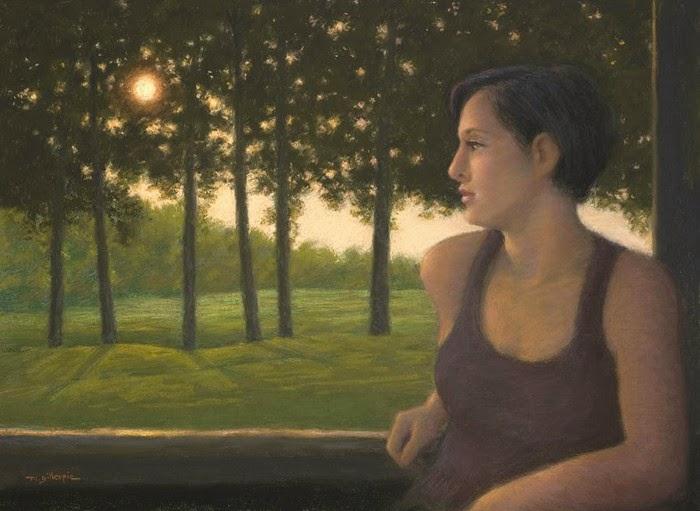 Современный американский художник. Michael Gillespie