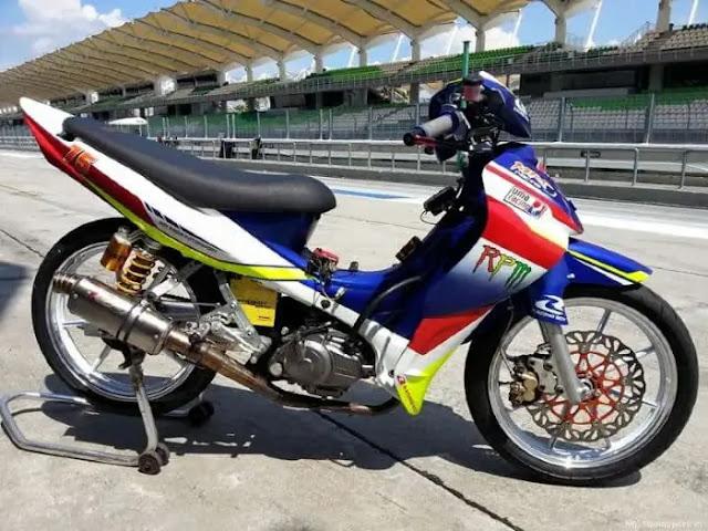 7 Modifikasi Motor Bebek