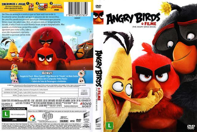 Capa DVD ANGRY BIRDS O FILME