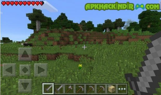 minecraft pe 1.1.0.9 hile apk