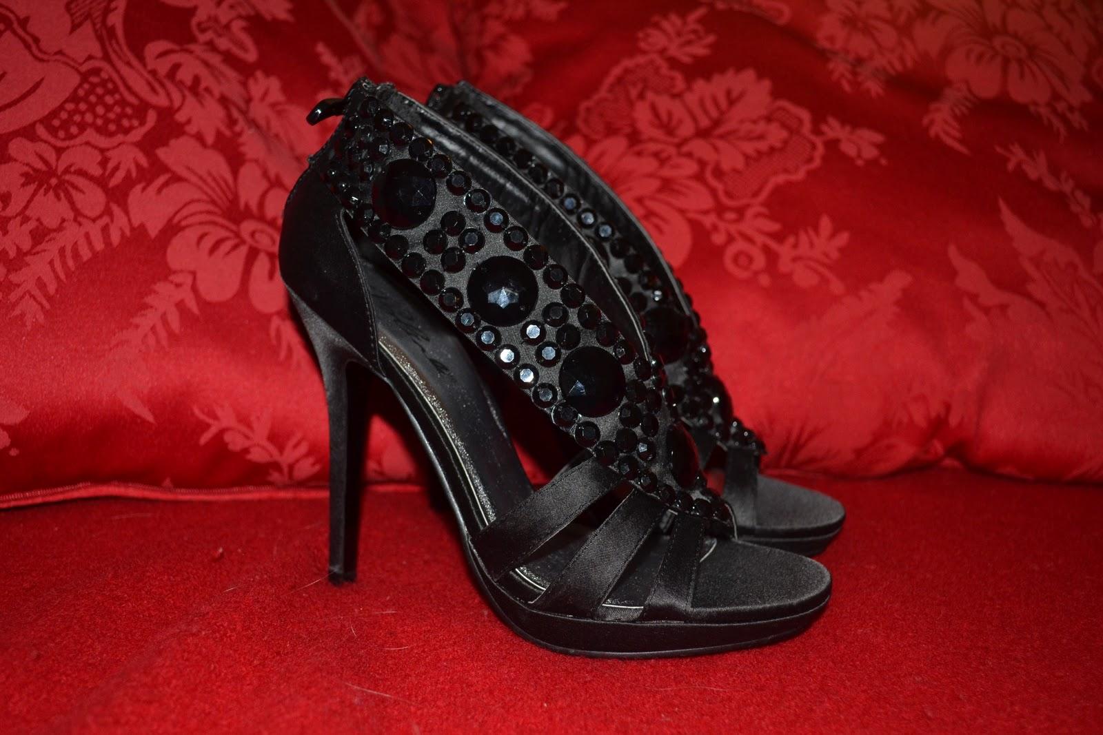 c7b0be1e1d91 Men tilbage til mine fine sorte sko  )! Dagens sko er fra Blink (som laver  rigtig mange fine stiletter