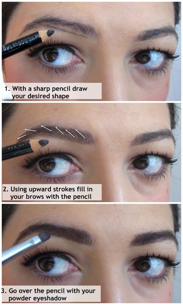 How I fill in my eyebrows - requested |Makeup and Macaroons