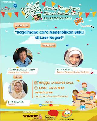 Festival Literasi Bacaan Anak Indonesia 2021