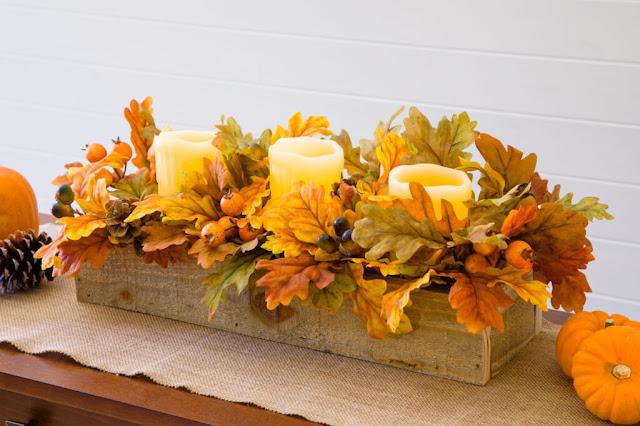 Thanksgiving-centerpiece-floral-wooden-box