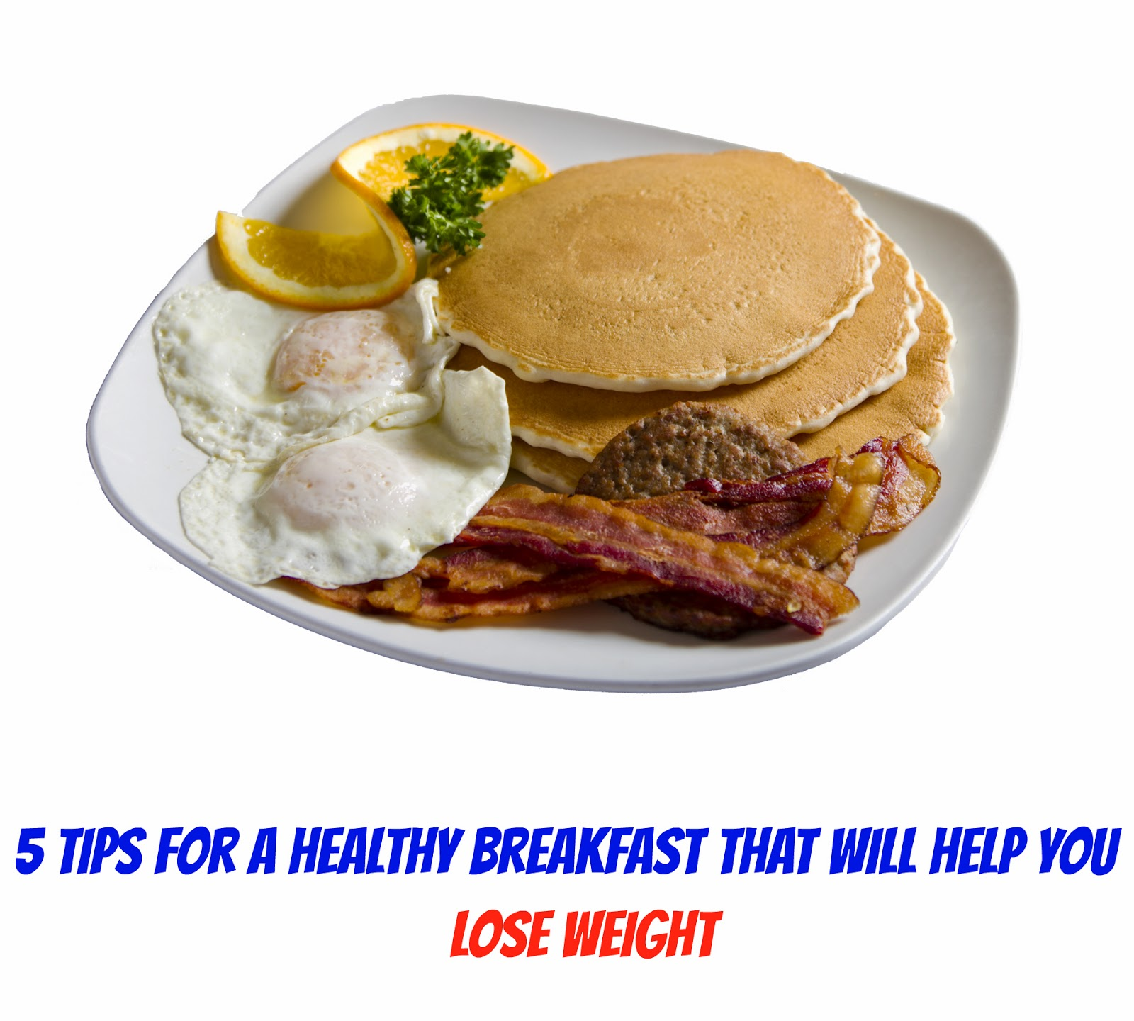 Destroy The Nasty Fats Now!!!: 5 Healthy Breakfast Tips