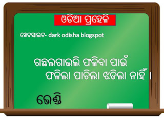 12 odia puzzle question with answer odia riddles - Dark ...