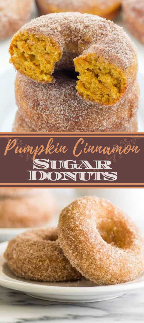 Pumpkin Cinnamon Sugar Donuts #healthyfood #dietketo #breakfast #food