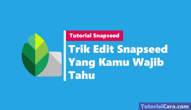 Trik Edit Snapseed Yang Kamu Wajib Tahu