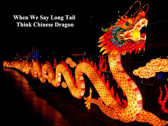 the relation between long tail keyword and Chinese dragon