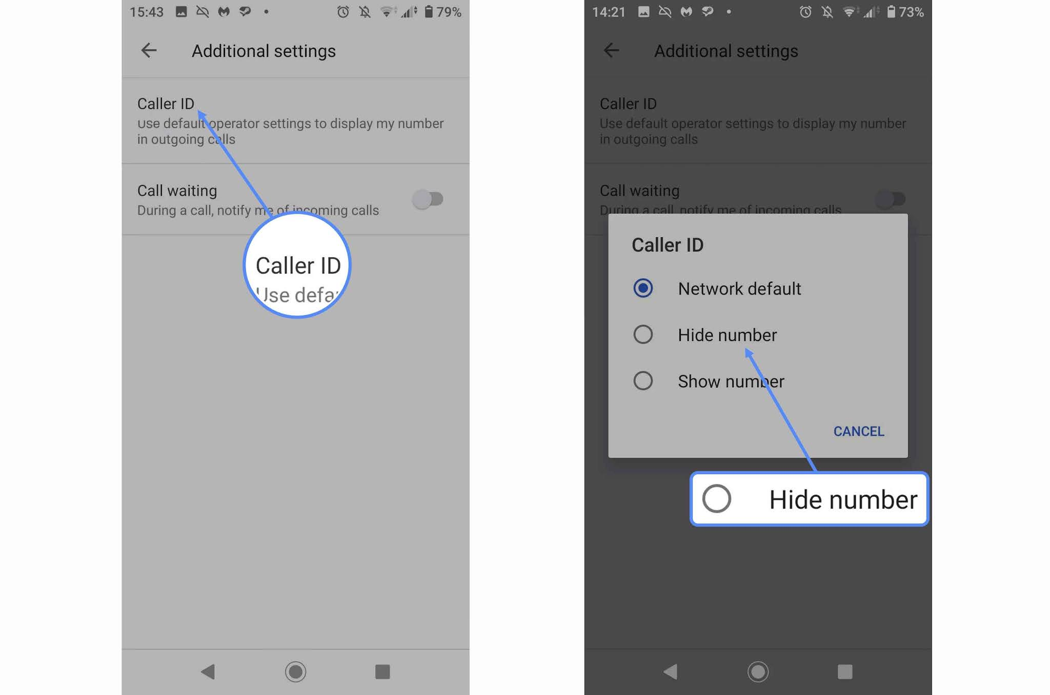 How to Make Your Number Private on Android?