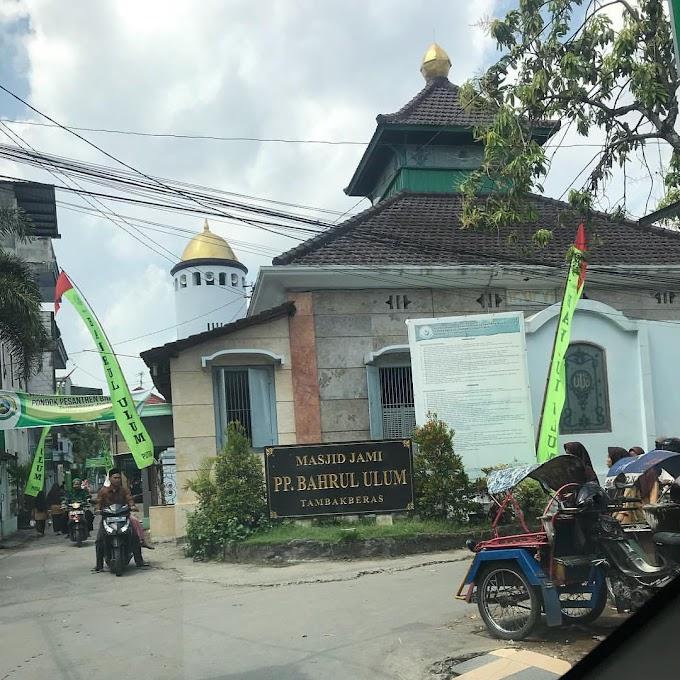 Masjid Jami Bahrul Ulum Tambakberas Jombang Merekam Banyak Peristiwa Bersejarah