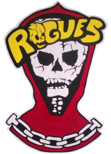 Logo banda Rogues - película The Warriors